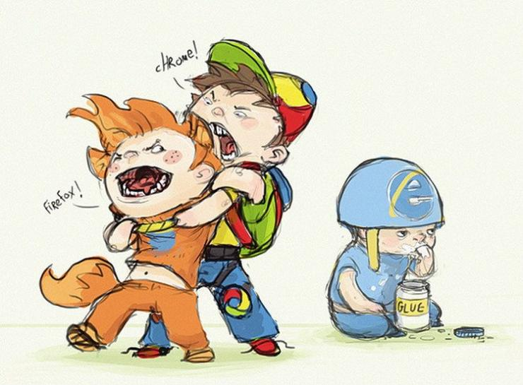 Firefox vs. Chrome vs. Internet Explorer